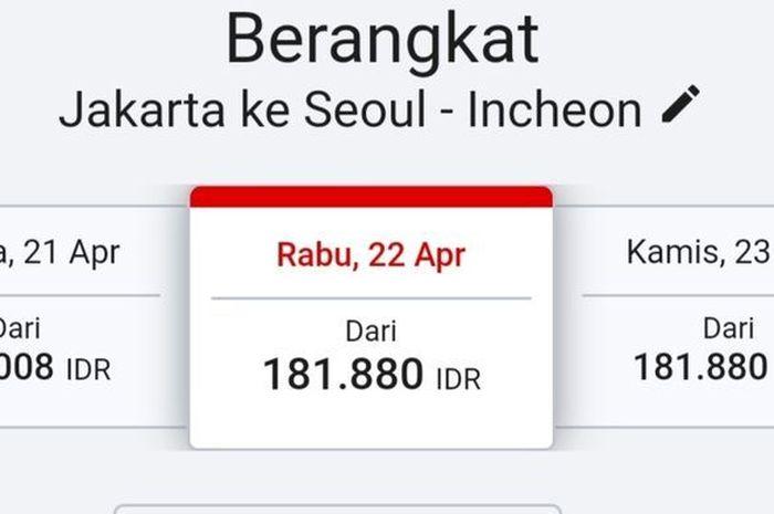 Tiket Jakarta Seoul Korsel Hanya Rp181 880 Selasa 17 Maret 2020 Murahnya Tiket Pesawat Jakarta Seoul Korsel Foto Suara Com Transkepri Com Jakarta Mewabahnya Virus Corona Covid 19 Nyatanya Berdampak Pada Banyak Hal Termasuk