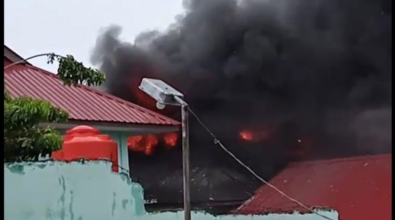 SMAN 3 Tanjungpinang Terbakar